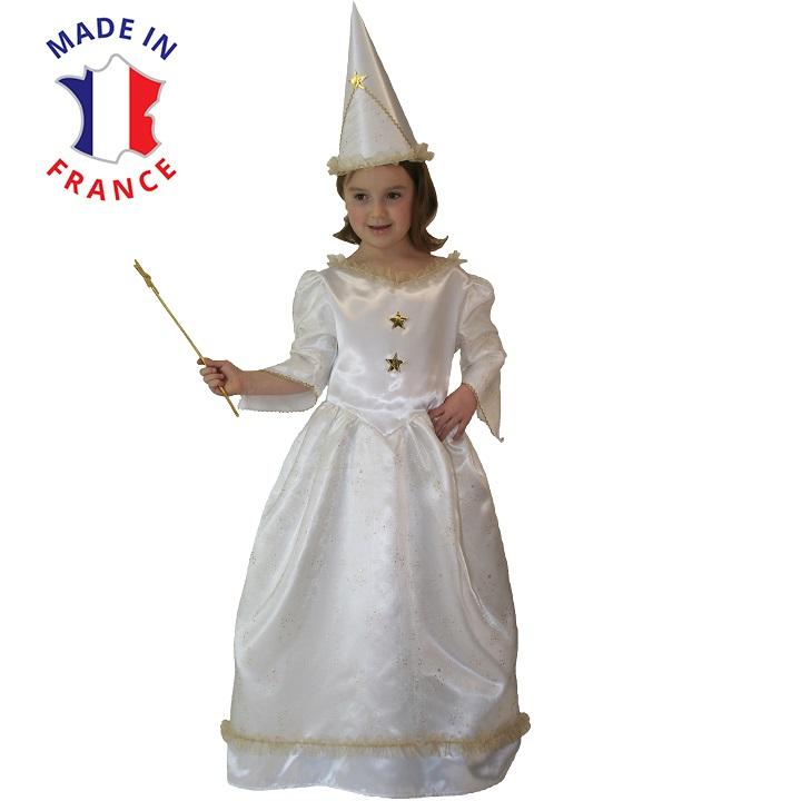 costume magicienne blanche