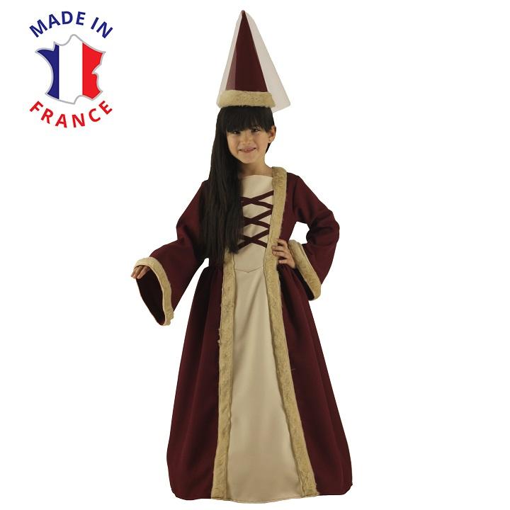 costume princesse medievale cour