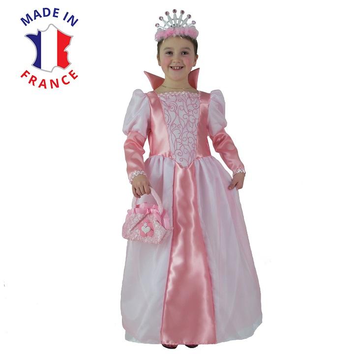 costume reine grand col
