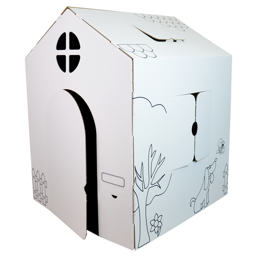 Maison en carton Wiplii
