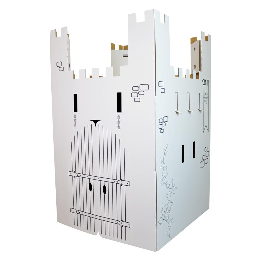 chateau fort en carton