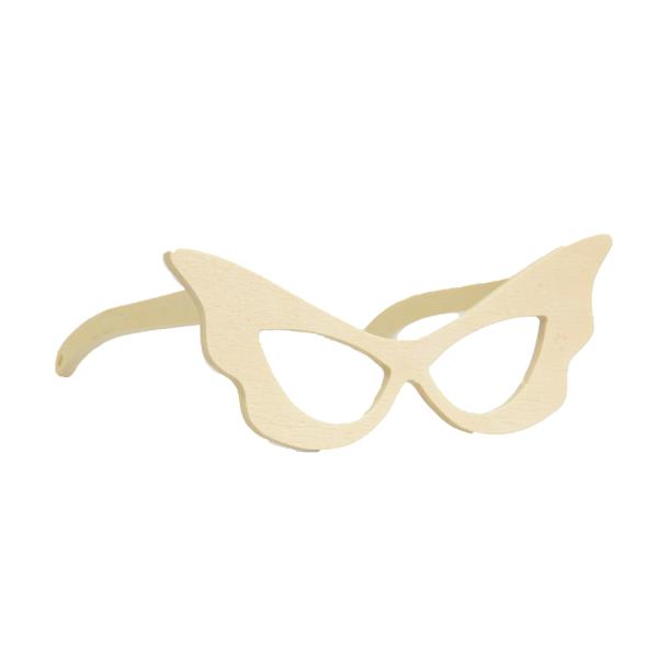 Lunettes de déguisement papillon