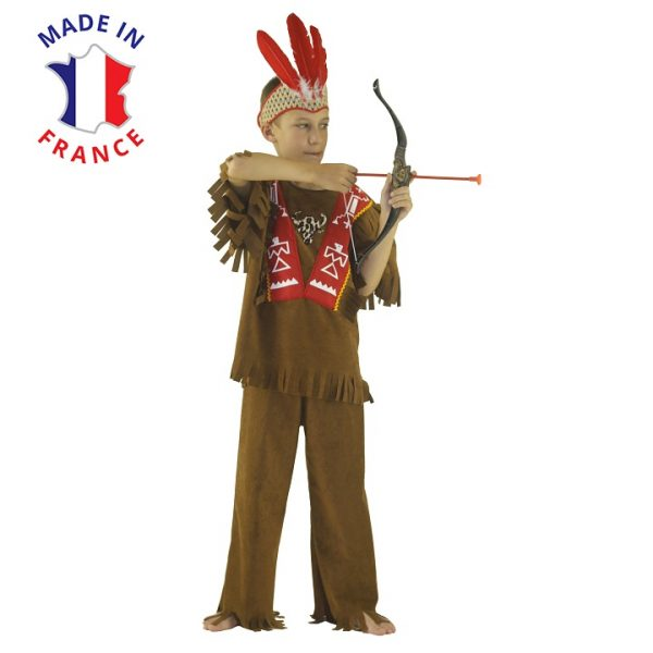 costume indien mohican