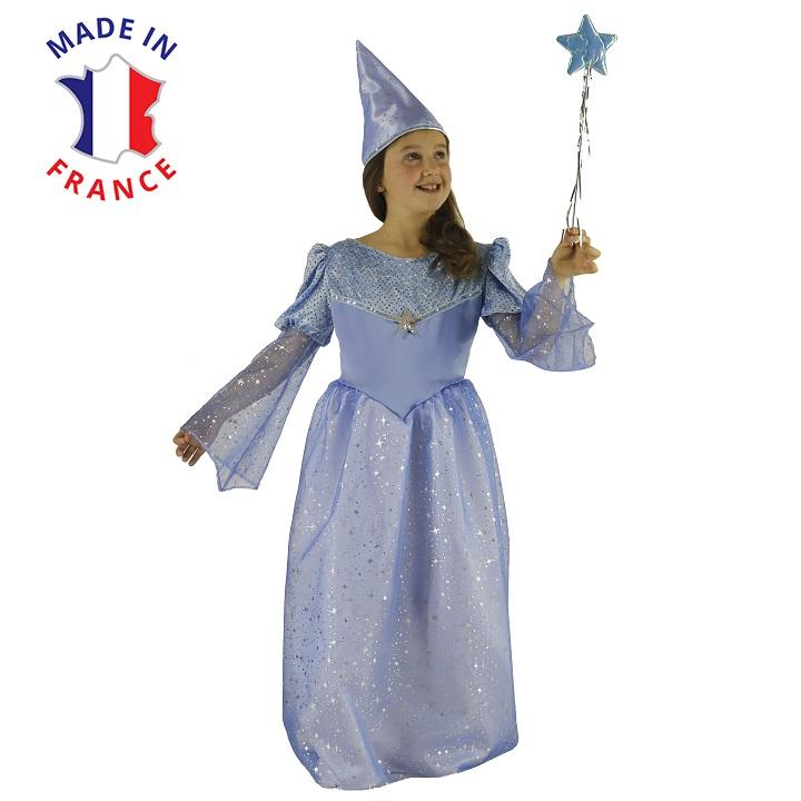 costume magicienne bleue
