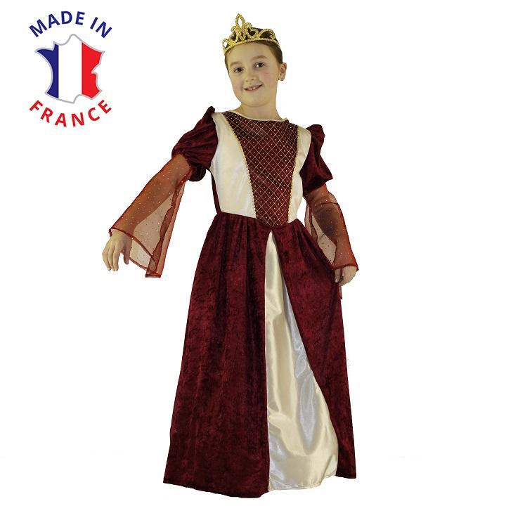costume princesse medievale au bal