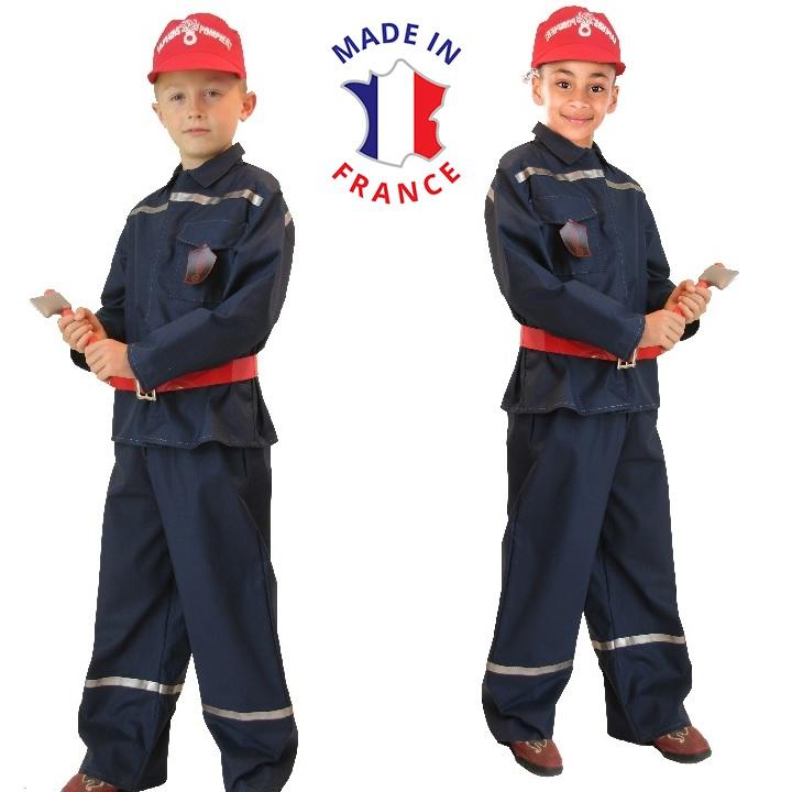 costume sapeur pompier